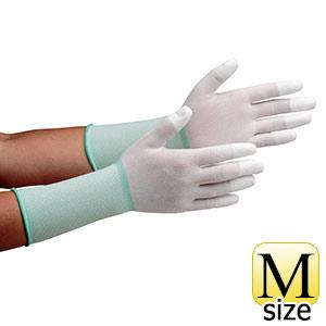 作業手袋 MCG−501Nロング (指先コーティング) M 10双/袋