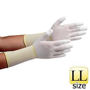 作業手袋 MCG−501Nロング (指先コーティング) LL 10双/袋