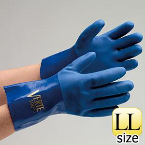 塩化ビニール製手袋 ベルテ−100 LL 10双入