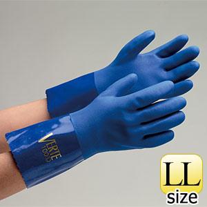 塩化ビニール製手袋 ベルテ−100ロング LL 10双入
