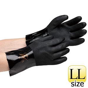 塩化ビニール製手袋 NO.649 ビニスターW 耐油&制電 LL 10双