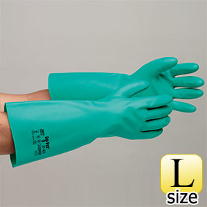 ニトリル製手袋 ソルベックス NO.37−165 (厚手) L 20双入