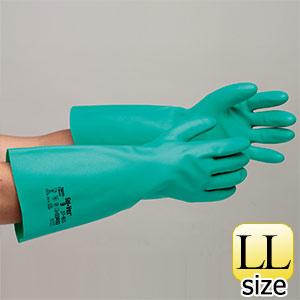 ニトリル製手袋 ソルベックス NO.37−165 (厚手) LL 20双入