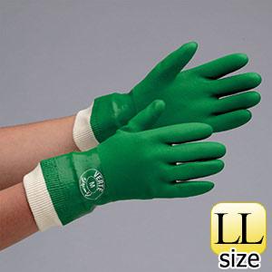 塩化ビニール製手袋 ベルテジャージ LL 10双/袋