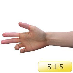 ピンク 指サック AS−3N−S15 1000個/袋