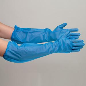 エステー NO.944 ポリエチレン製ディスポ手袋 ブルー フリー 30枚