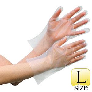 外エンボスポリエチレン手袋 ベルテ 563C L 5000枚