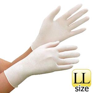 ニトリル手袋 ベルテ 781N 粉なし ホワイト LL 100枚