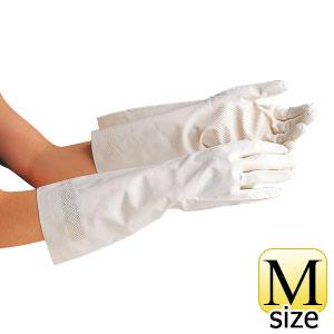 ニトリル手袋 ベルテ250 ホワイト 薄手 M 10双入