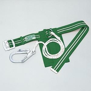 胴ベルト型安全帯 ライトセーフ グリーン