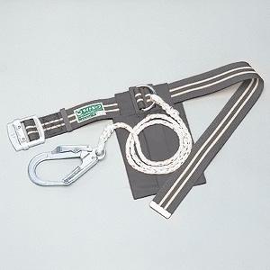 胴ベルト型安全帯 ライトセーフ グレー