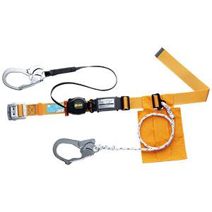 胴ベルト型 ロープ式補助ロープ付 MSK−500−30L−YL イエロー