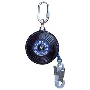 リトラクタ式墜落阻止器具 BB−60−SN (引寄ロープ付)