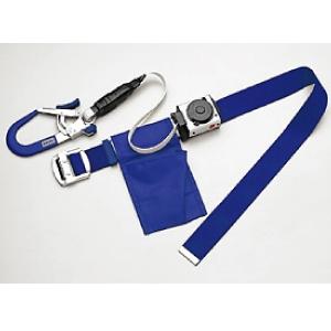 胴ベルト型安全帯 セフィールSE−1 ブルー