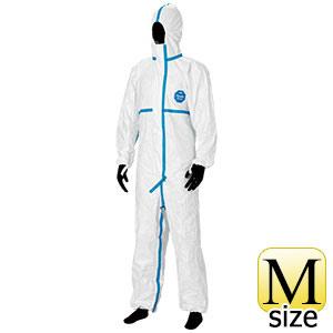防護服 デュポン(TM) タイベック(R) ソフトウェア �V型フード付 M
