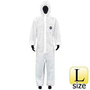 SMS不織布製 防護服 デュポン プロシールド10W ホワイト L