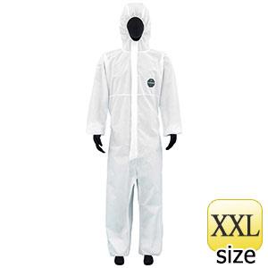 SMS不織布製 防護服 デュポン プロシールド10W ホワイト XXL