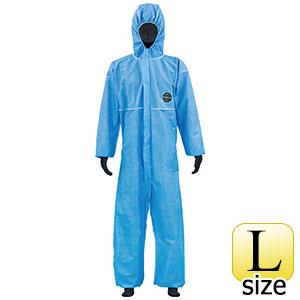 SMS不織布製 防護服 デュポン プロシールド10B ブルー L