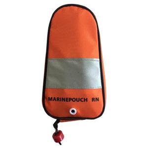 救命浮輪 マリンポーチ RN型 膨張式 縦型オレンジ