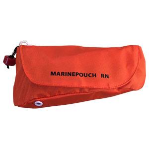 救命浮輪 マリンポーチ RN型 膨張式 横型オレンジ