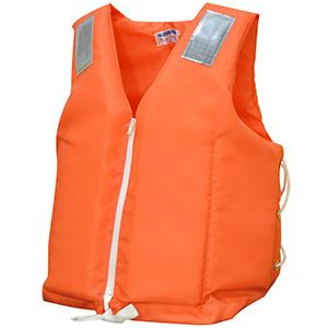 救命胴衣 作業用・小型船舶用救命胴衣兼用型 NS−3Z−2 オレンジ