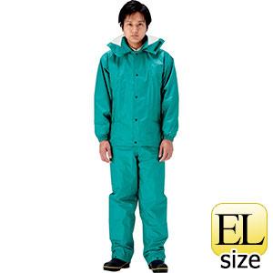 雨衣 エントラント ハイテクスーツ A−680 グリーン EL