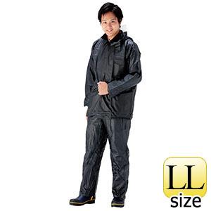 雨衣 ビニールジャンパー・ズボン A−120A 紺 LL