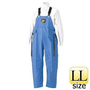 雨衣 マリン胸付ズボン G−229 ブルー LL