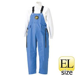 雨衣 マリン胸付ズボン G−229 ブルー EL