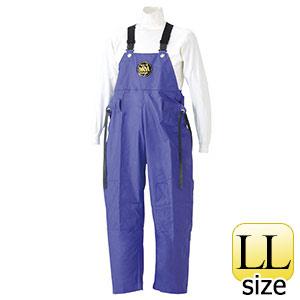雨衣 マリン胸付ズボン G−229 パープル LL