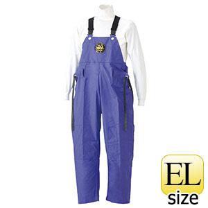 雨衣 マリン胸付ズボン G−229 パープル EL