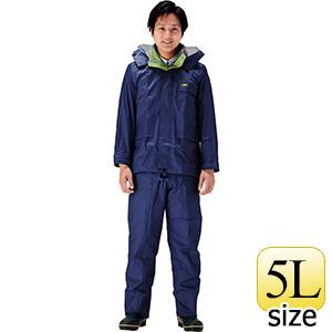 雨衣 透湿 MOA シータレインスーツ A−660 ネイビー 5L
