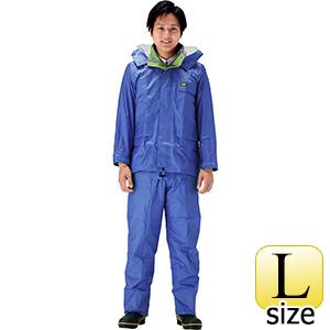 雨衣 透湿 MOA シータレインスーツ A−660 ブルー L