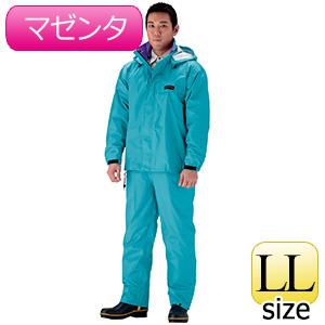雨衣 オールマインドスーツ #3250 マゼンタ LL