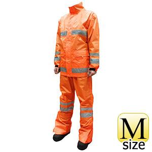 セーフティーレインスーツ スクード F8400 蛍光オレンジ M
