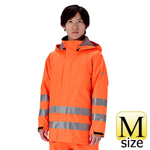 レインベルデN(R) ゴアテックス(R) 高視認仕様 上衣 蛍光オレンジ M