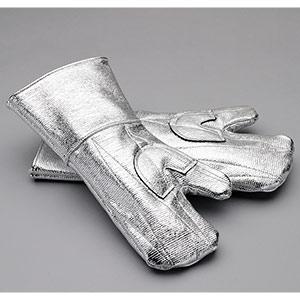 耐熱保護用品 アルミ耐熱手袋 2本指