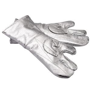 耐熱保護用品 アルミ耐熱手袋 3本指