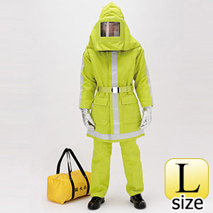 防災防火衣 上衣 Lサイズ