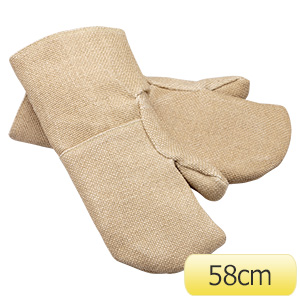 耐熱手袋 ゼテックスプラス(R) ダブルパームミトン2本指 58cm