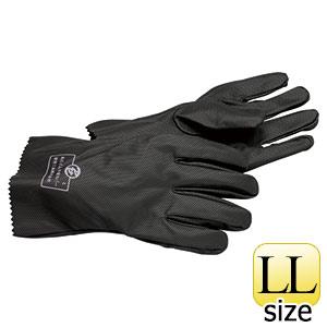 高圧ゴム手袋カバー 733 ポリウレタン製 LLサイズ