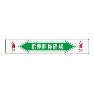 路面標識 路面−5 指差呼称確認 101005