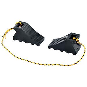 タイヤストッパー5BK 樹脂タイプ 黒 2個/組 120006