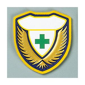 ウェルダーワッペン 胸M (緑十字のみ、文字無) 126913