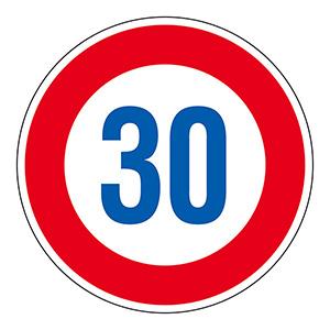道路標識 道路323−30K(AL)  133674