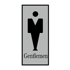 トイレプレート トイレ−340−1 Gentlemen 206051