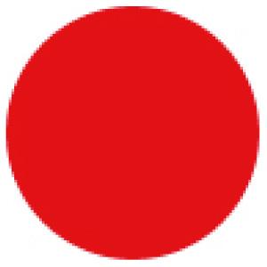 マーキング−23R 23mm径 100枚1組 赤 208404