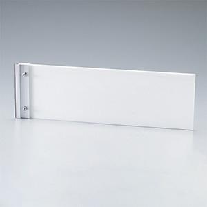 ルームプレート 室名−110−300 白無地板 213300