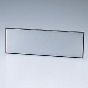 ルームプレート 室名−200−300 アルミ地無地板 215300