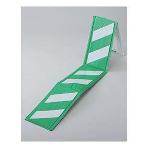 コーナーガード20WG 白/緑 反射タイプ 246032